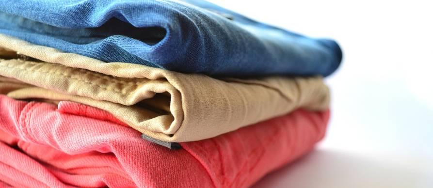 Spakovana garderoba