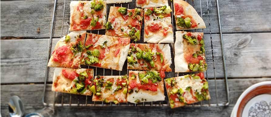 Veganska pica sa roštilja