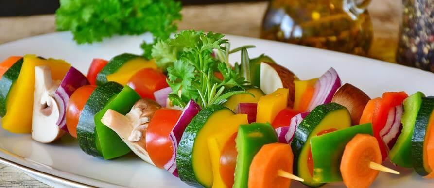 tikvice na žaru sa ostalim povrćem